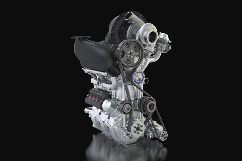 DIG-T R 1.5 liter three-cylinder engine
