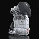 DIG-T R 1.5 liter three-cylinder turbo engine