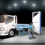 Hino Dutro Hybrid vehicle
