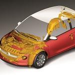 Opel Adam recycled materials