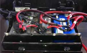 Pack de 3 batteries avec module de démarrage Maxwell