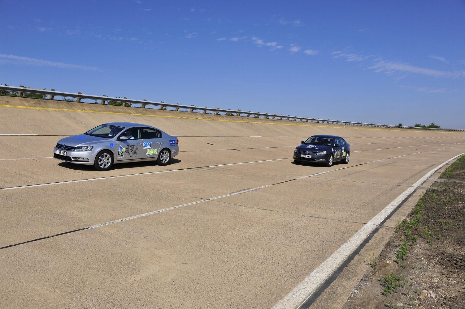 La technologie d'assistance de couple et de récupération d'énergie cinétique CPT SpeedStart a été appliquée à des démonstrateurs véhicules 48V et 12V