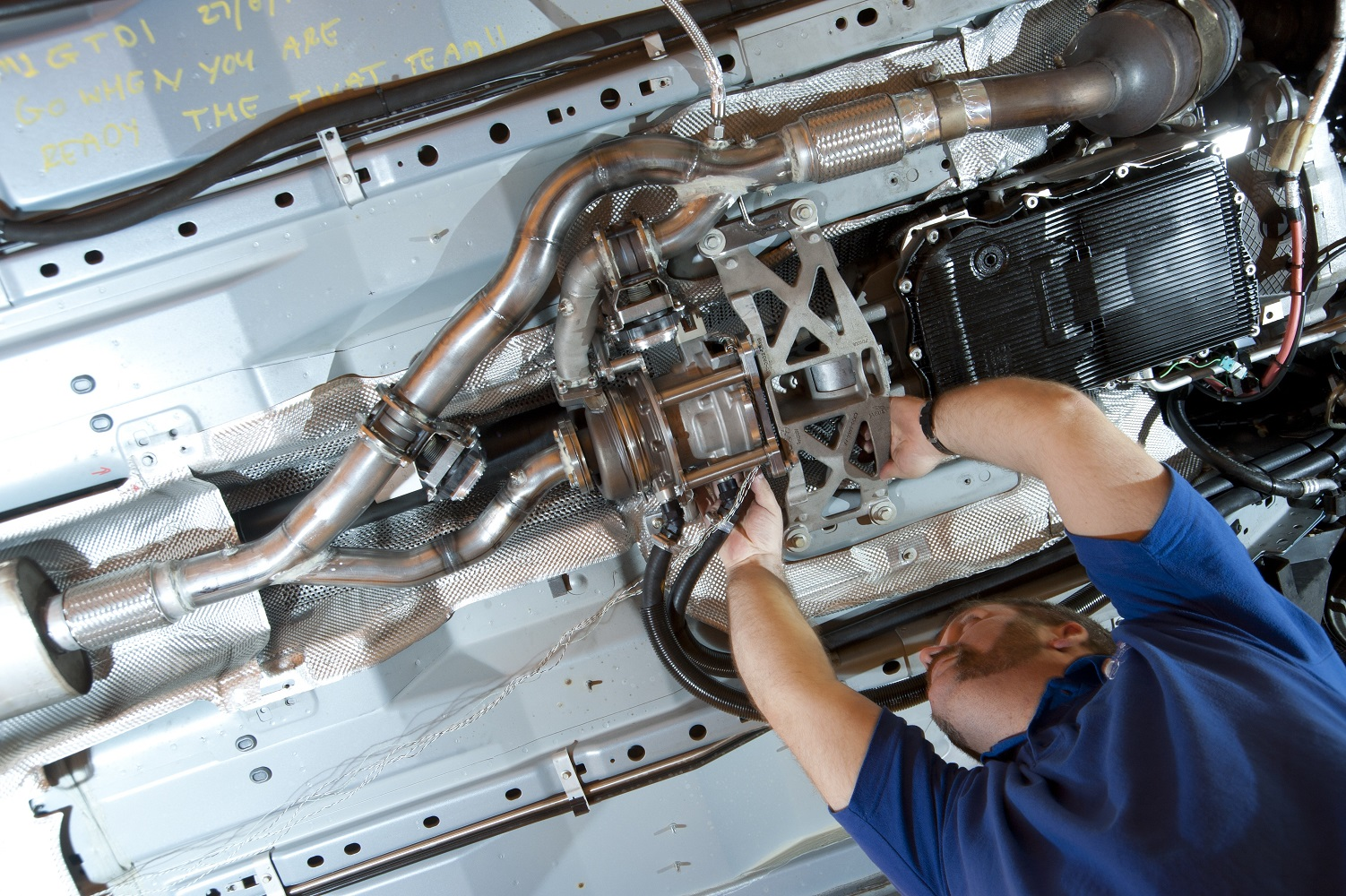 Le système de récupération d'énergie des gaz d'échappement CPT TIGERS a également été appliqué au programme de recherche Wrightbus soutenu par le Technology Strategy Board du Royaume-Uni