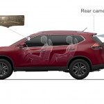 Nissan Smart rear view mirror in Qashqai