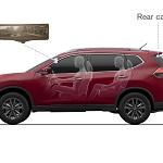 Nissan Smart rearview mirror in Qashqai