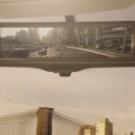 Smart-rear-view-mirror-under-bright-light
