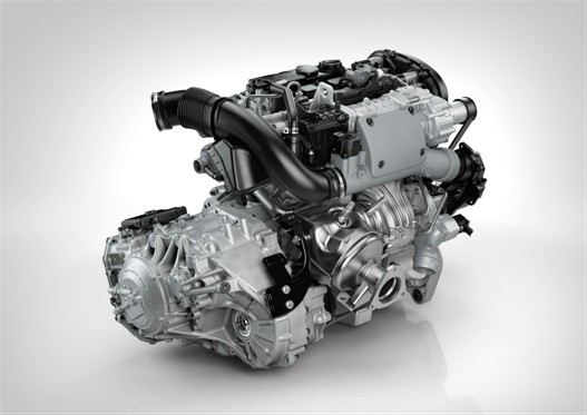 The new Drive-E petrol engine hot side