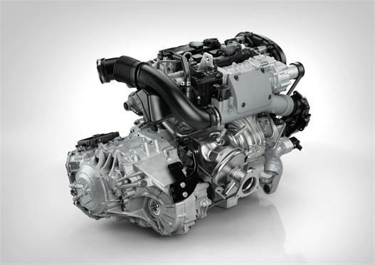 The new Drive-E petrol engine hot side