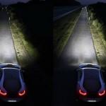 left LED High Beam, right Laser High Beam