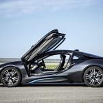 BMW i8 side view