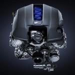 Lexus RC-F V8 engine
