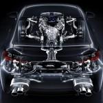 Lexus RC-F seethrough back