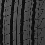 Michelin tire five-rib tread design