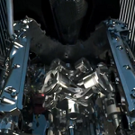 New 2014 Renault F1 engine
