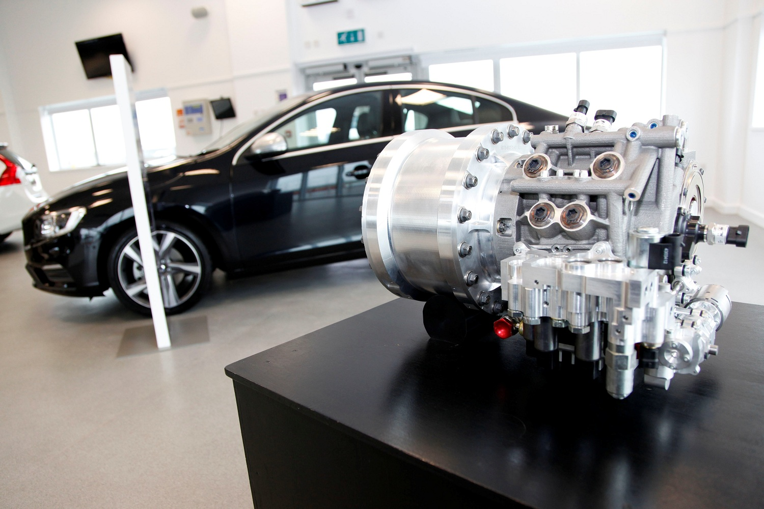 The Volvo S60 T5 and its flywheel