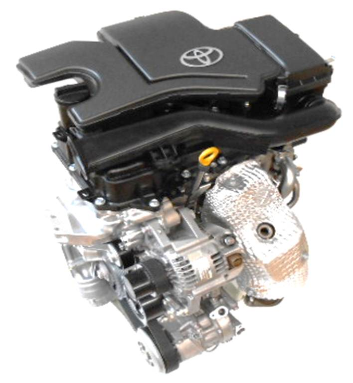 1.0-liter engine jointly developed with Daihatsu Motor Co