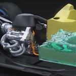 Mercedes 2014 Formula 1 Hybrid Power Unit