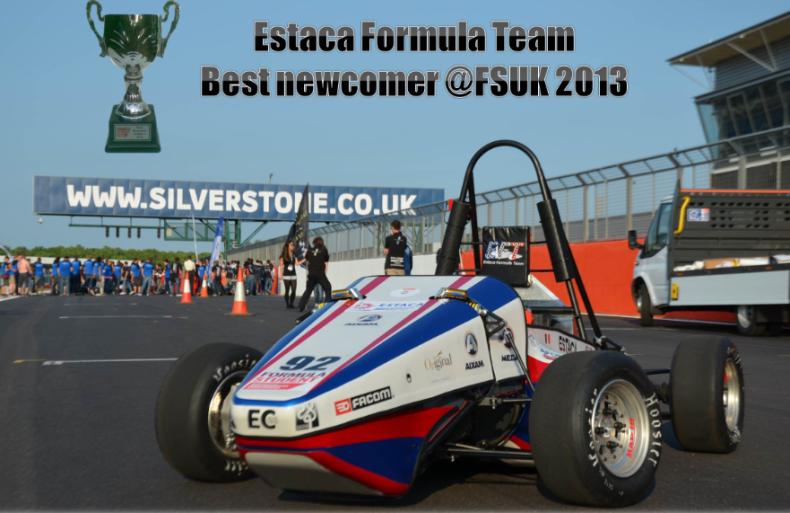 The EC-01 Formula student race car