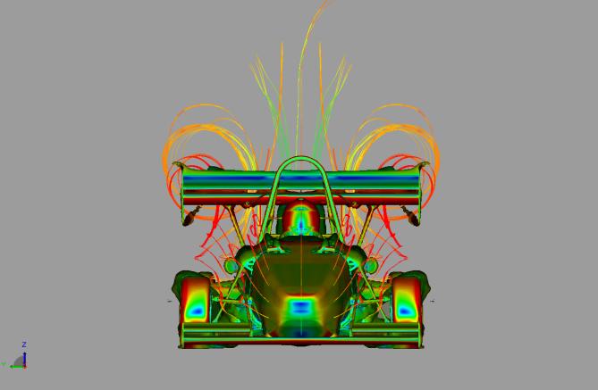 The EC-02 aerodynamics calculations