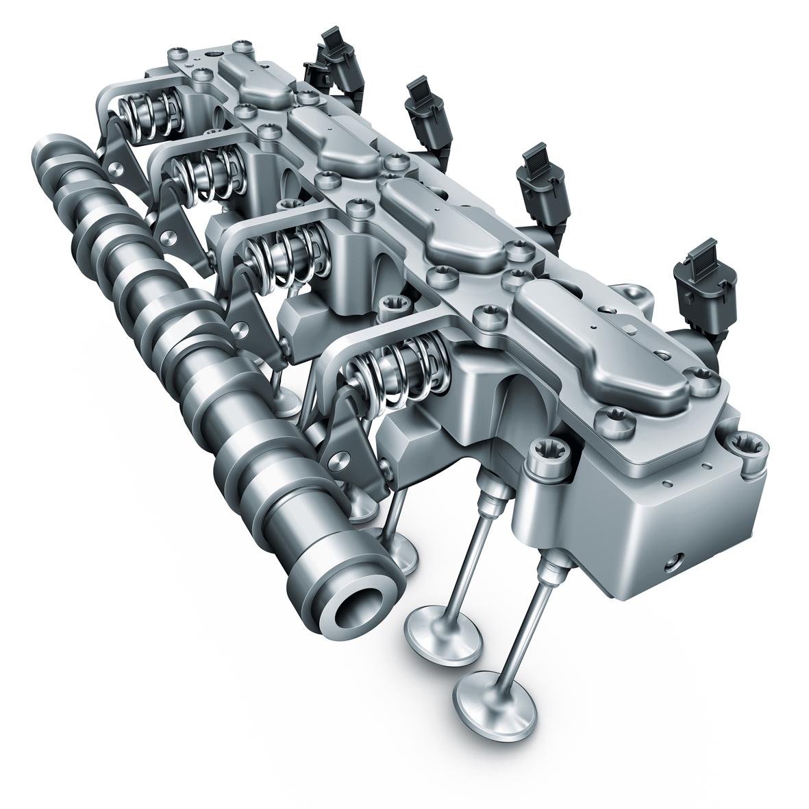 Fully variable UniAir valve control system
