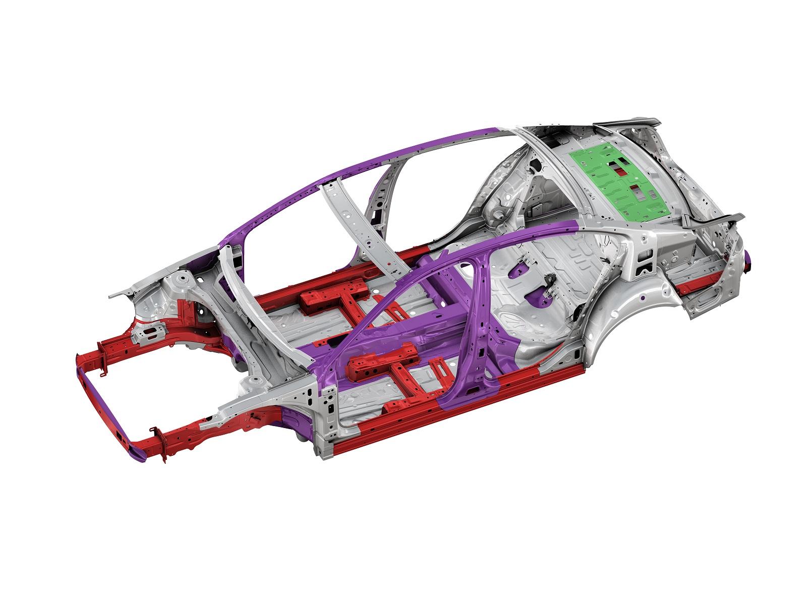 Lightweight structure of the New Passat