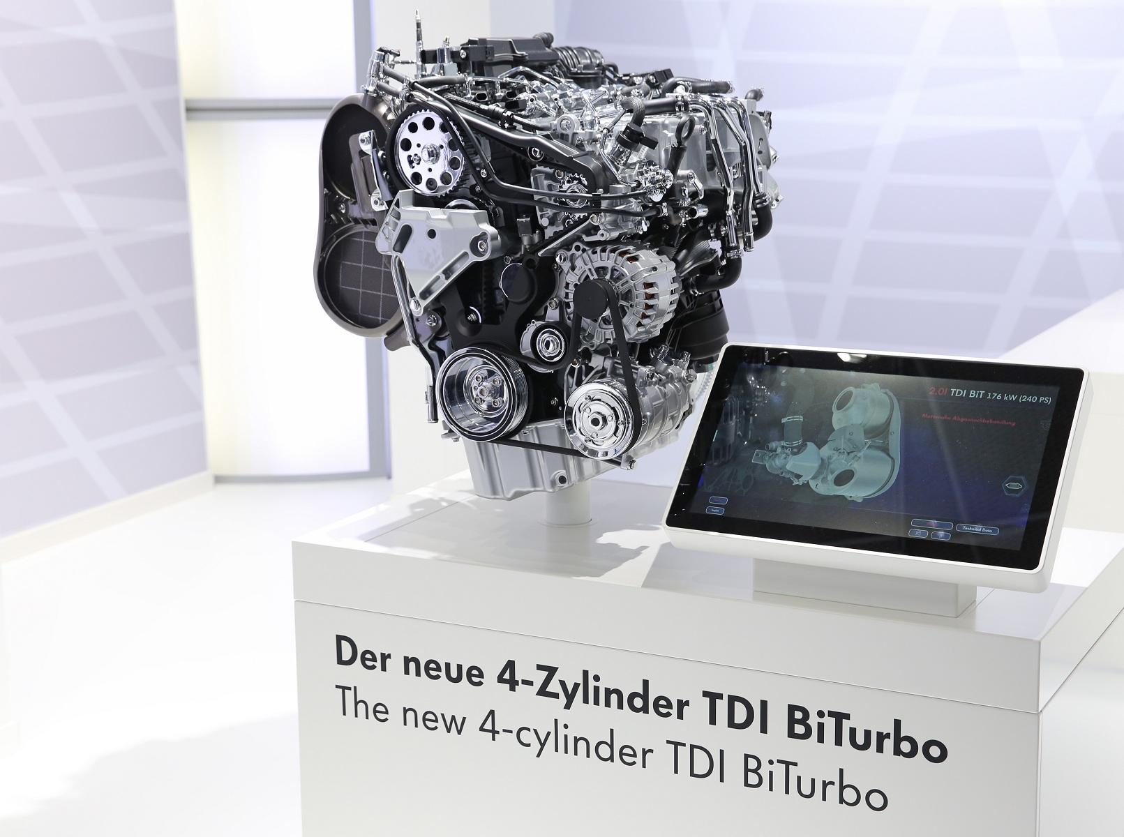 New 2.0l TDI engine