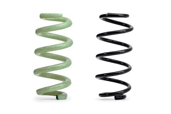 glass fiber-reinforced polymer (GFRP) springs