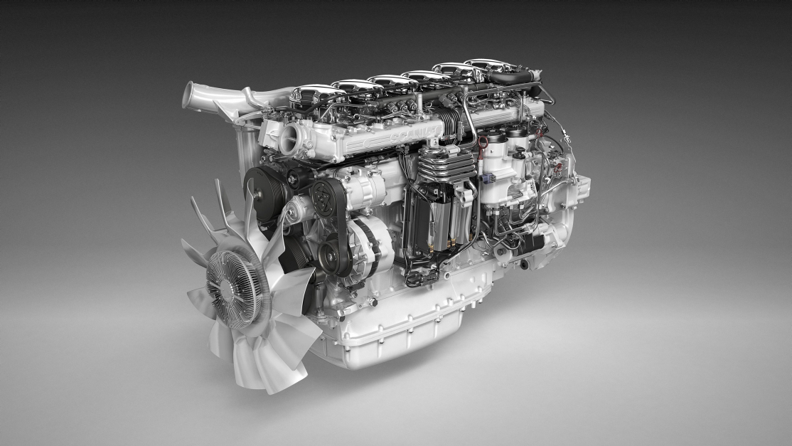 Scania Euro6 SCR only engine