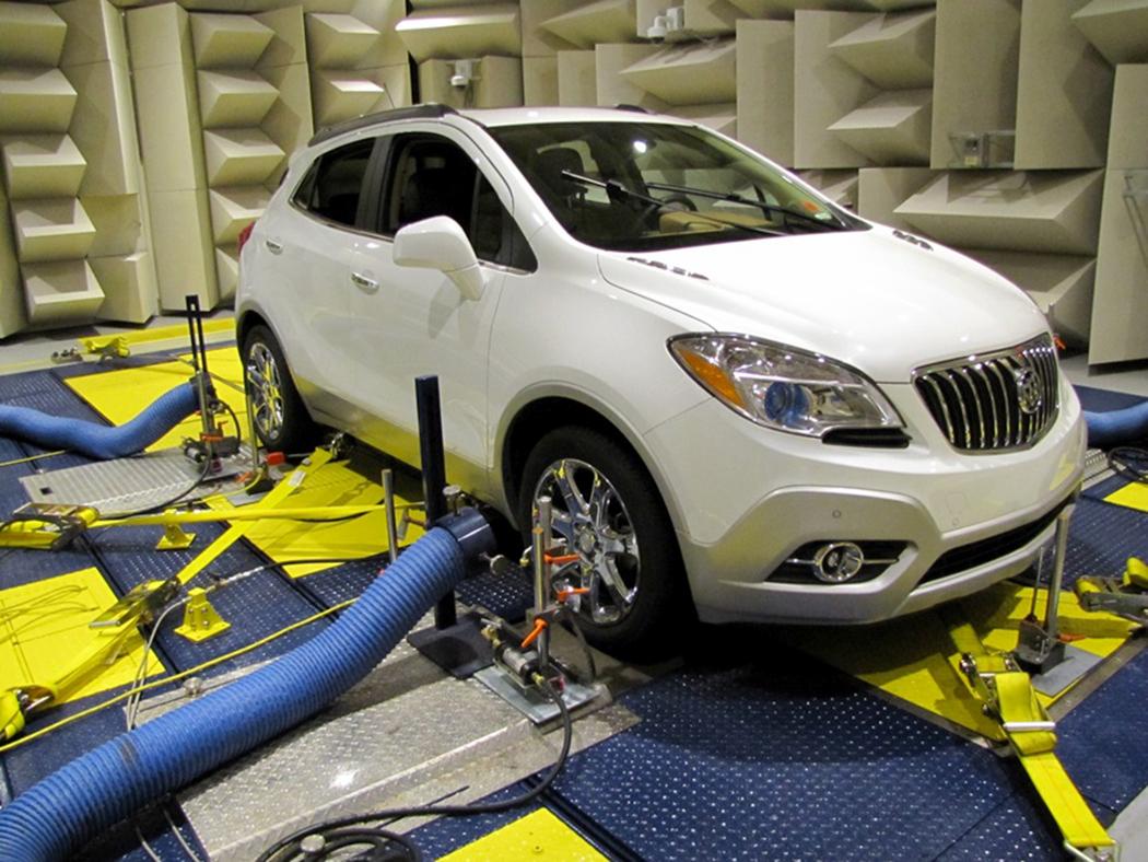 Buick brake dynamometer
