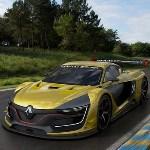 Renault Sport R.S. 01 on track