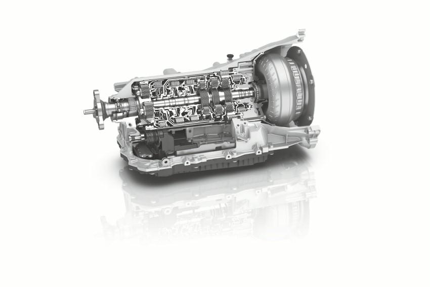 La génération 2 de ZF 8HP
