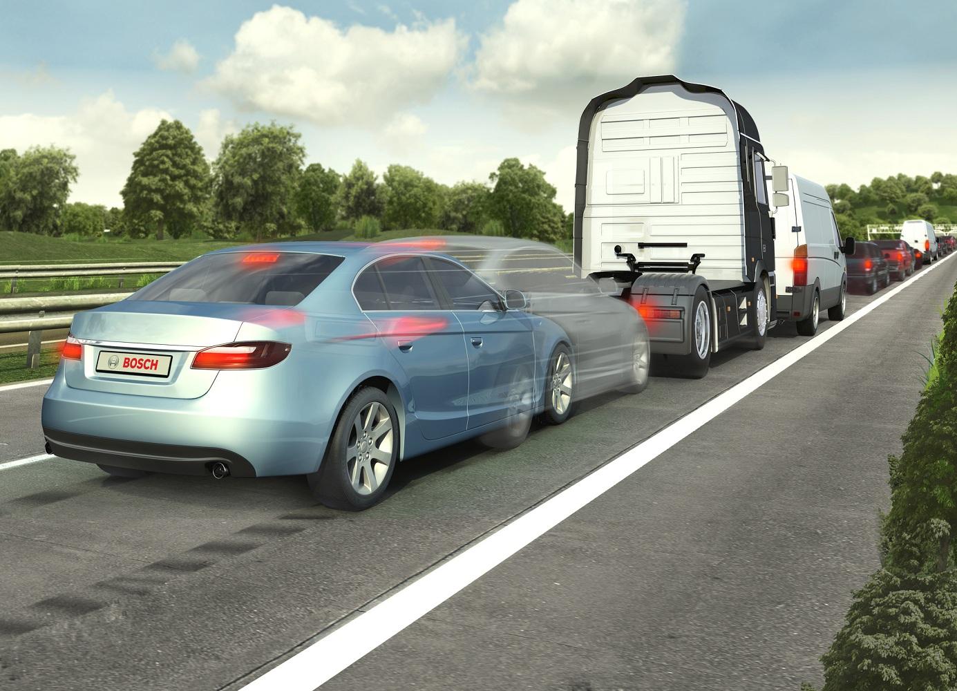 Système de freinage d'urgence Bosch
