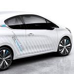 Peugeot 208 hybrid-air concept car