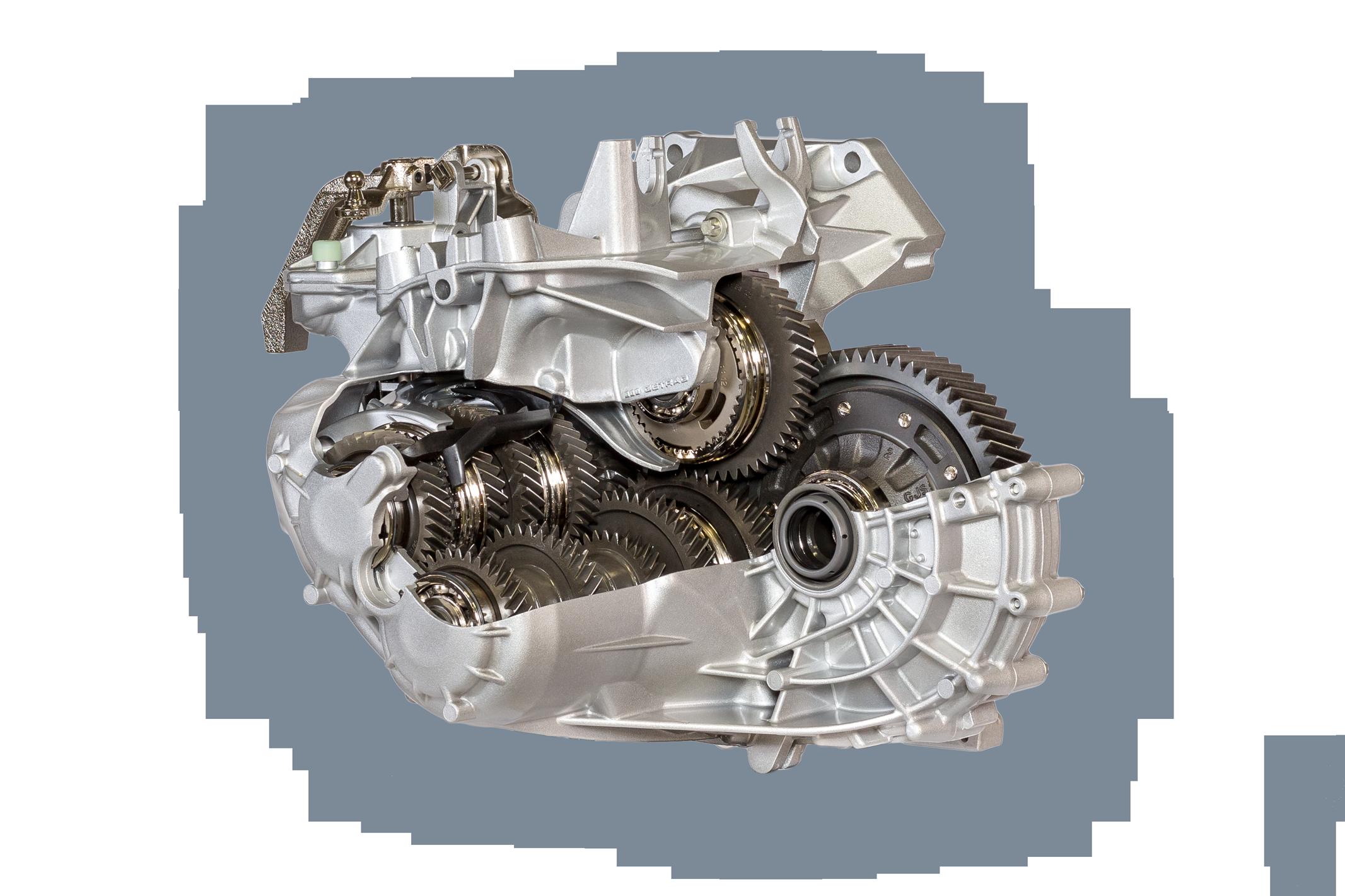 6MTT350 gearbox by Getrag
