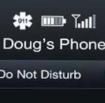 Do-not-disturb-mode