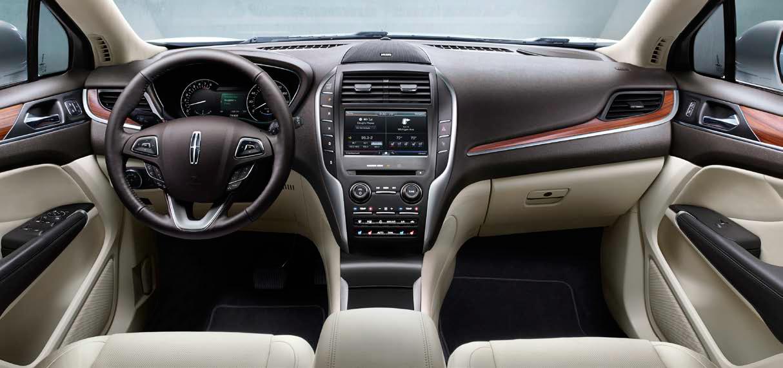 2015 Lincoln MKC interior