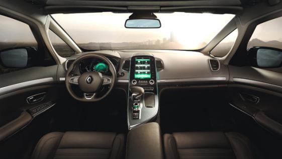 New Renault Espace interior