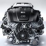 V8 Biturbo engine by AMG