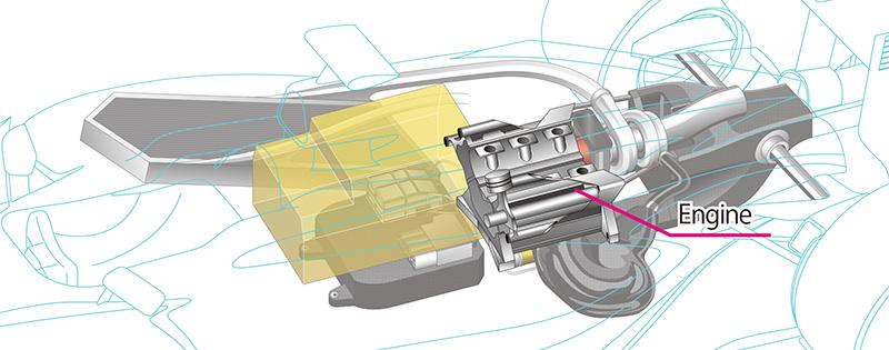 Power Unit engine