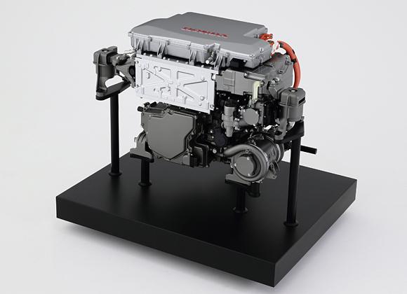 Pile à combustible du Honda FCV CONCEPT