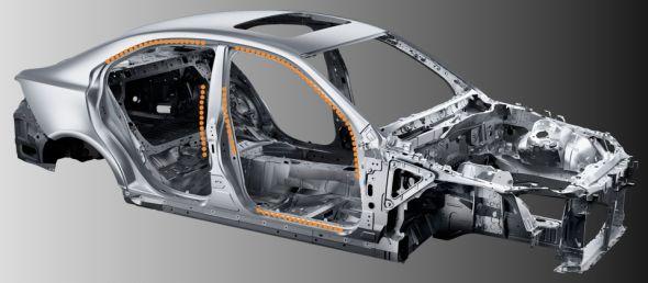 Laser-screw welding is a Lexus-first technology