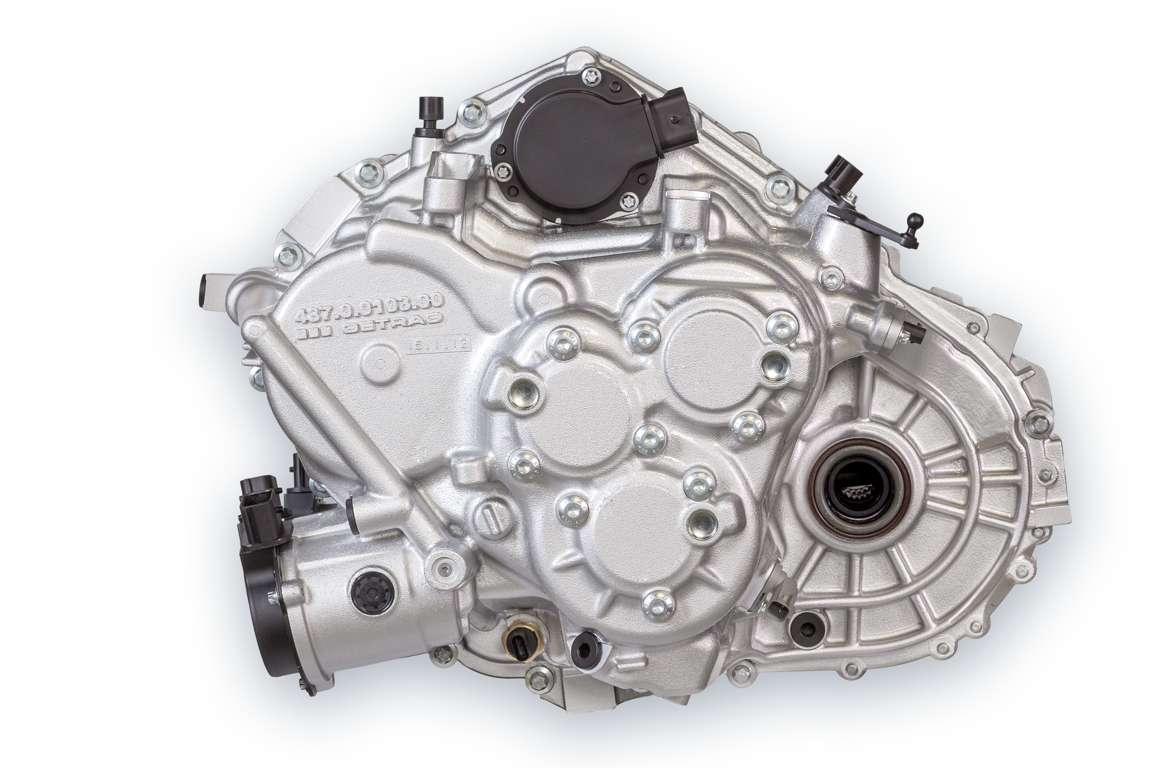 The compact dual clutch transmission 6DCT150