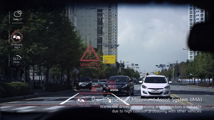 Hyundai's Head-Up Display