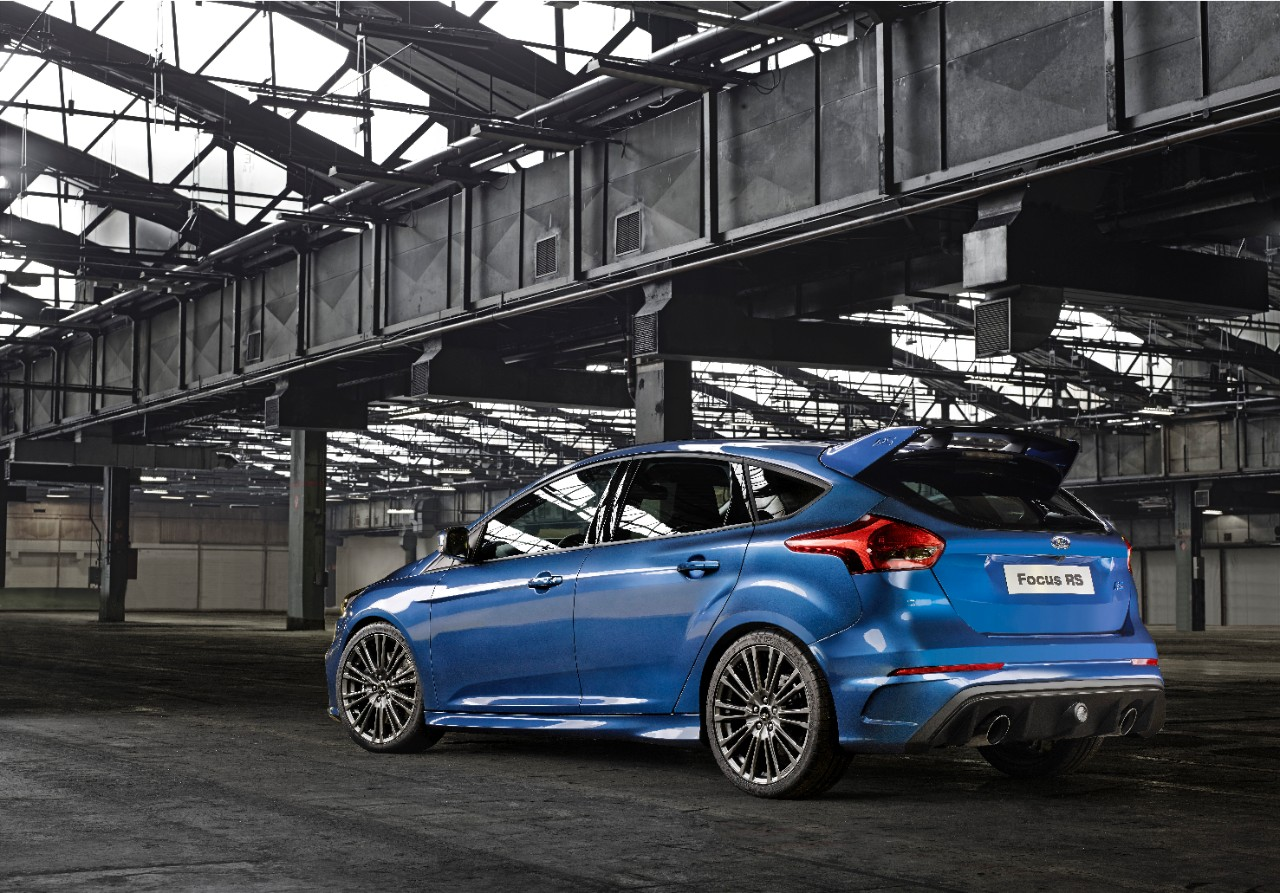 All-Wheel drive Ford Focus RS 2015