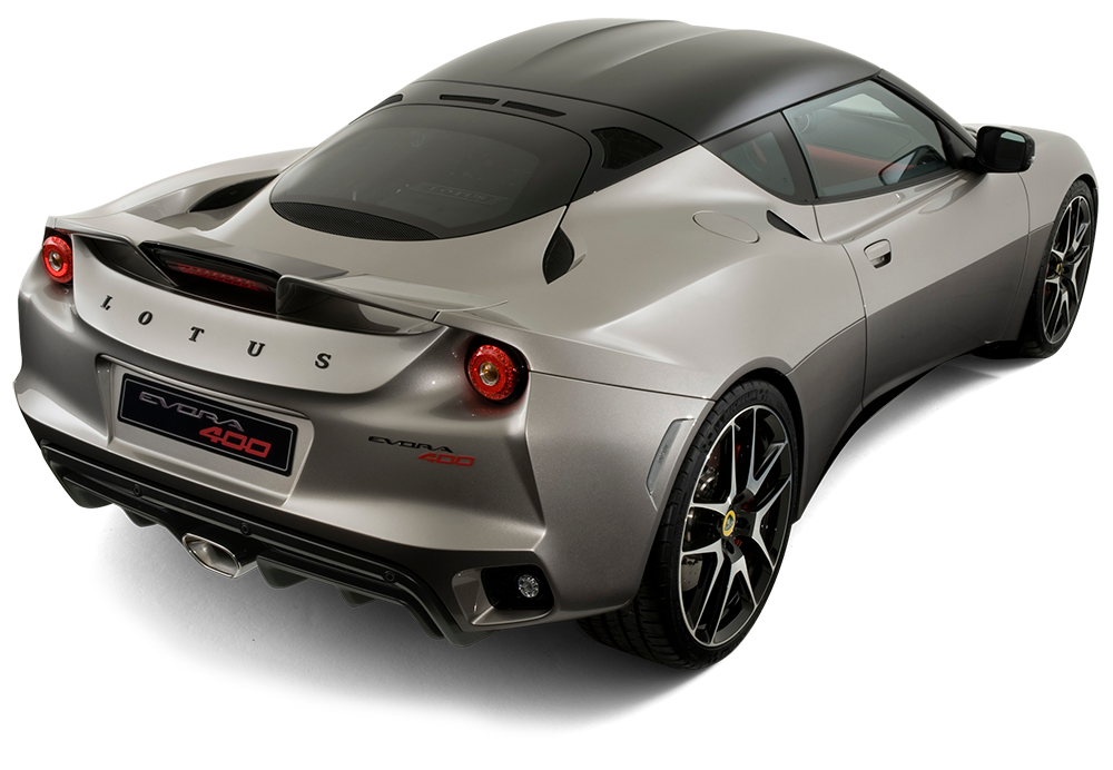 Lotus Evora 400 rear exterior