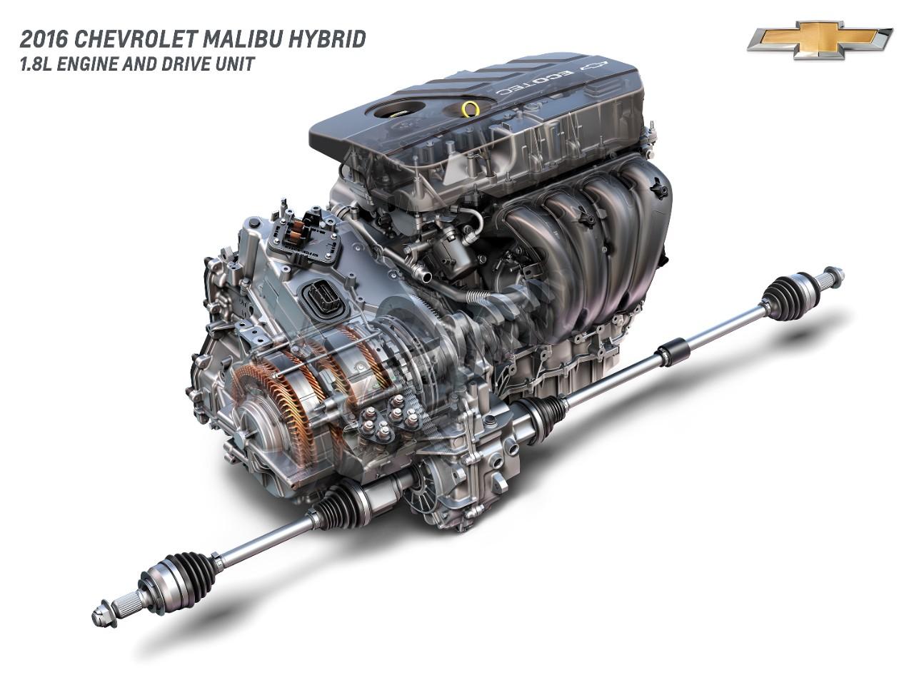 2016 Chevrolet Malibu Hybrid 1 8l Engine And Drive Unit