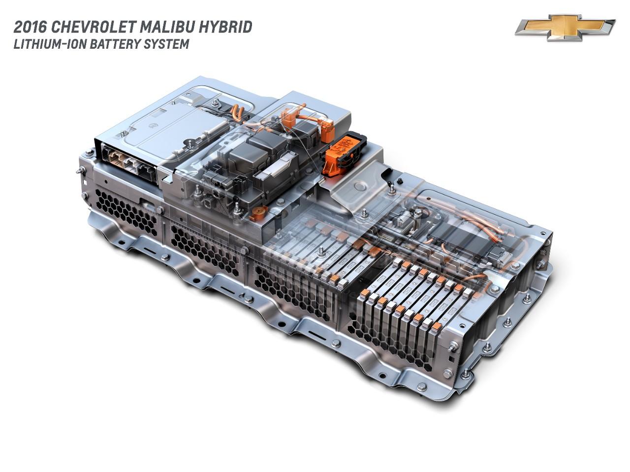 2016 Chevrolet Malibu Hybrid battery