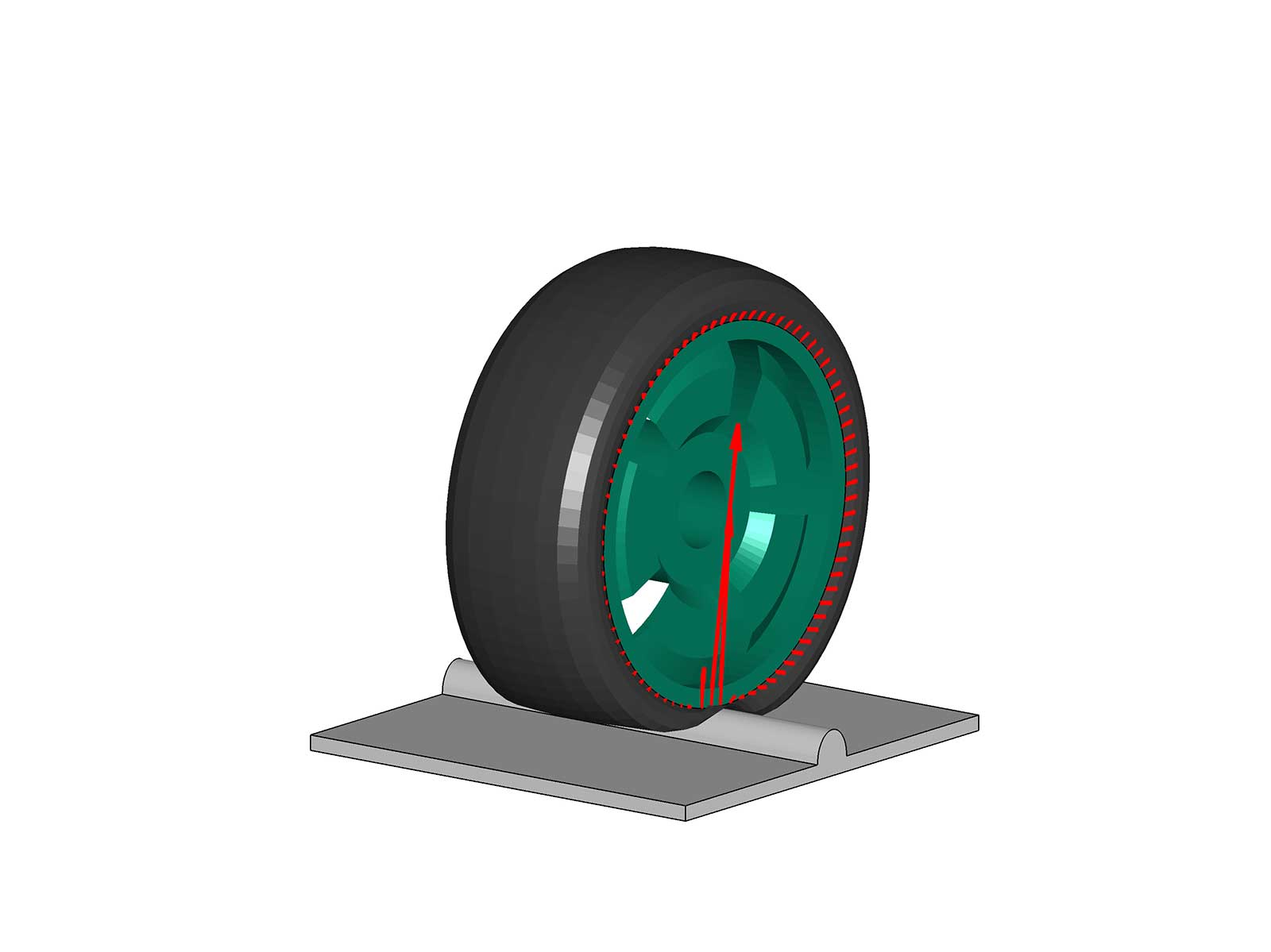 ITWM Virtual vehicle testing modeling tires realistically