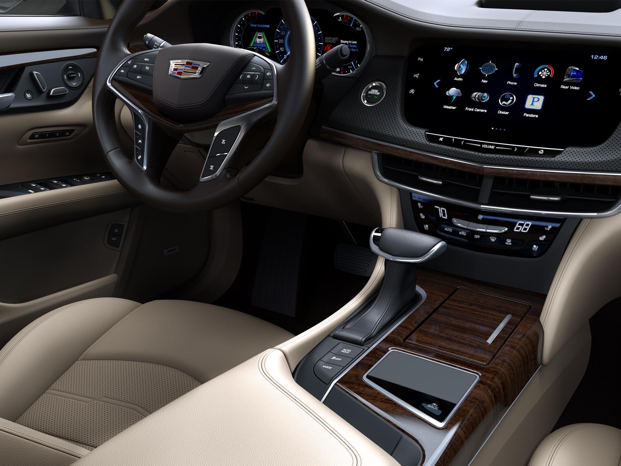 2016 Cadillac CT6 PHEV interior