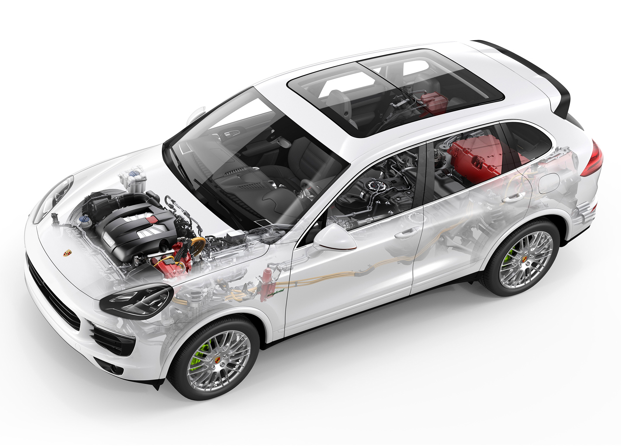 Porsche Cayenne S E-Hybrid Phantom graphic
